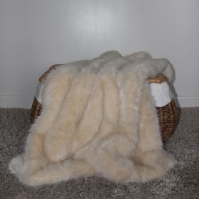 Faux Fur Blanket Polar Bear
