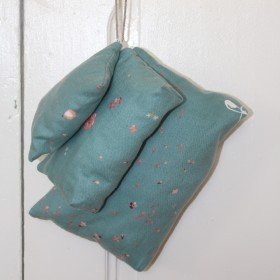 Coin, Make-up & Toiletries Bag Fuwari Teal